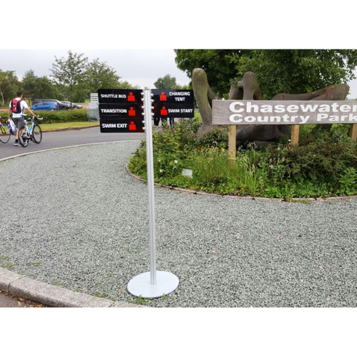Signpost at Chasewater