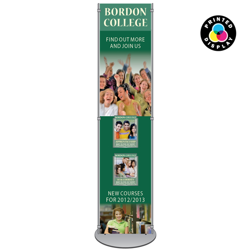 Information stand - sign with A5P brochure holders