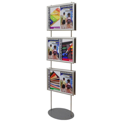 PF26: 1.5m snap frame poster stands