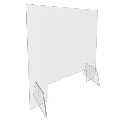 BT1: Flat pack protective screens in acrylic