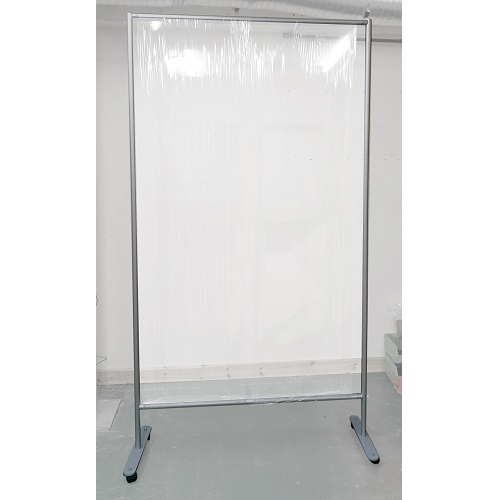 BF2: Floor standing support frames for cling film screens