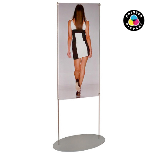 SF6: 1.5m sign panel stands (printed)