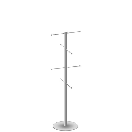 Bag stand with 8 arms