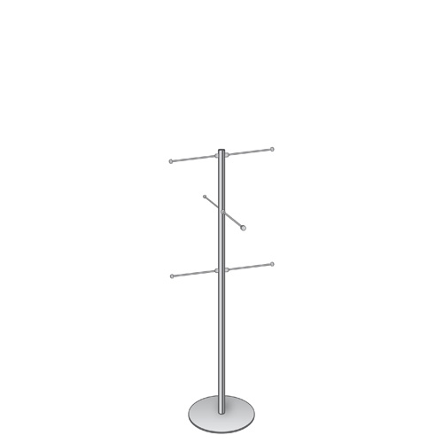 Bag stand 1200mm (approx 4 ft) with 6 hangers