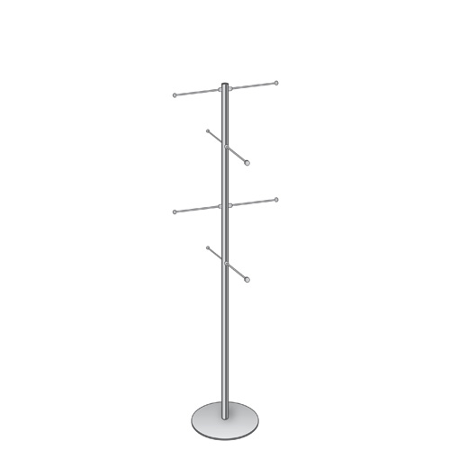 1.5m carrier bag stand with 8 arms