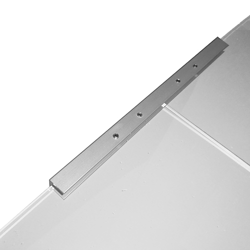 Aluminium joining strip for screens